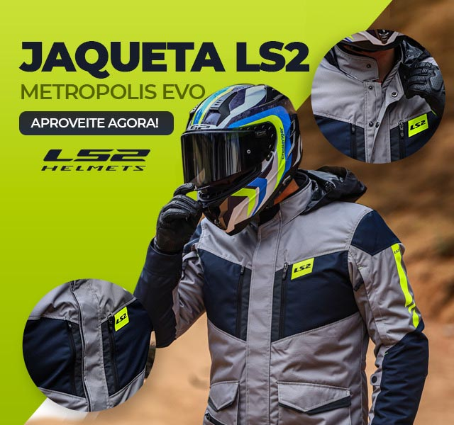 Jaqueta LS2 Metropolis Evo